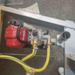 Stufenlos absenkbare Pumpe um eine dauerhafte Ansaugung aus dem Fass zu ermöglichen
